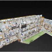 Gezondheidscentrum - interactief poppenhuis (Matterport techniek)