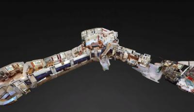 't Reigersnest Oostvoorne – Hoofdgebouw 3D Model