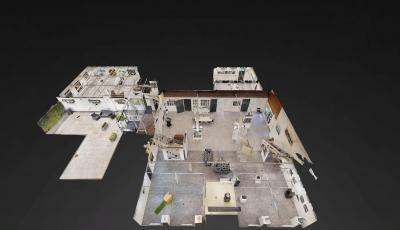 Kunstgalerie Bleiswijk 20-11-2018 Begane Grond 3D Model