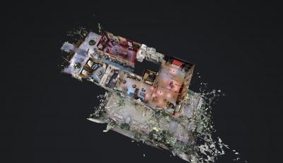 St Joris Doele Schiedam tijdelijk 3D Model