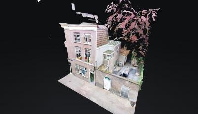 Ketelboetersteeg 21 Leiden 3D Model
