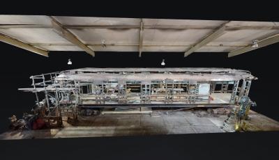 Restauratie Hofpleintrein – september 2021 3D Model